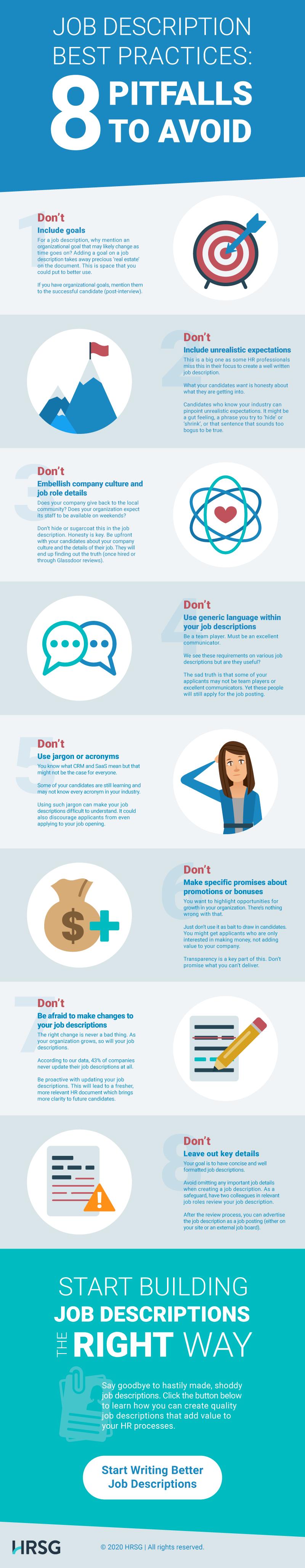 8 job description mistakes to avoid
