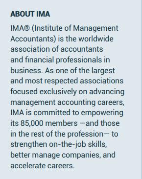 IMA company info